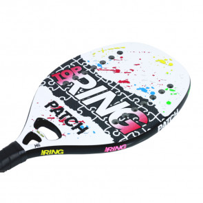 Paddle Tennis Racket Top Ring PATCH BIANCA 2021