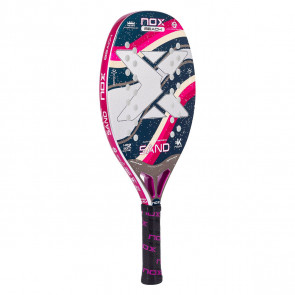 Beach Tennis Racket Nox SAND PURPLE 2021