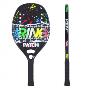 Racchetta Beach Tennis Top Ring PATCH NERA 2021