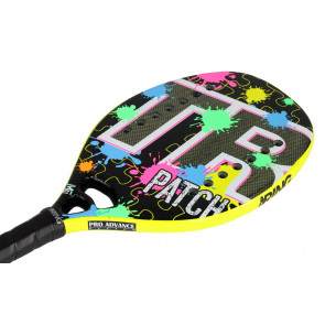 Raquette de Beach Tennis Top Ring YELLOW PATCH 2019