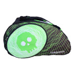 Borsone Beach Tennis Turquoise SUPER PRO BAG BLACK DEATH GREEN 2020
